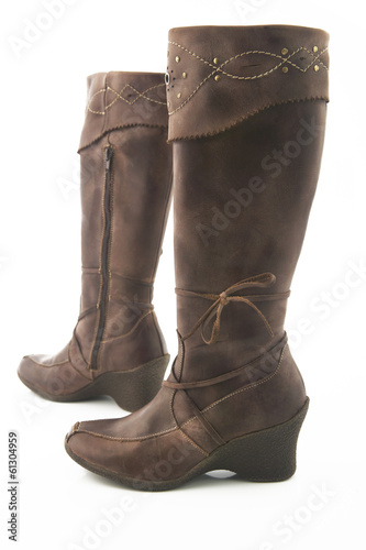 Woman leather Boot
