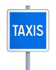 Panneau - Station de taxis V2