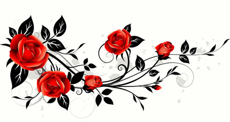 Roses decorative