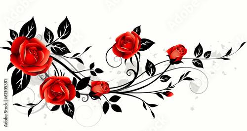 Roses decorative - 61305391