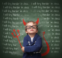 I will try harder in class - not