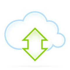 Cloud Computing Icon Communication