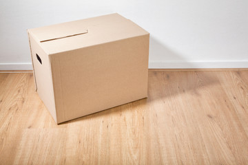 Moving Box in a Room