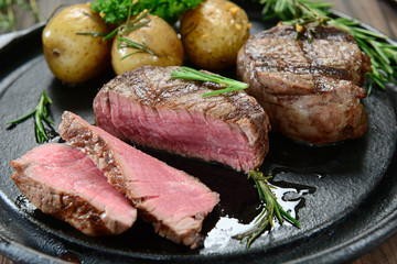 Roasted fillet