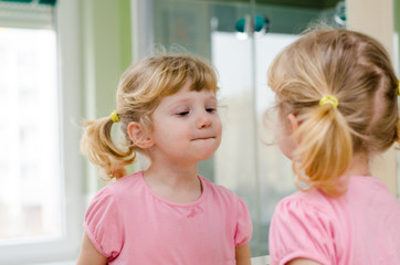 child the mirror