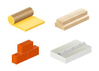 Matériaux de construction vectoriels 1