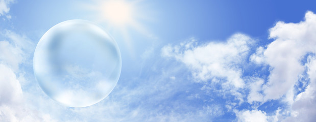 Solar energy and giant empty bubble