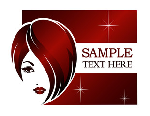 Banner template for beauty salon, spa, hair styles, etc.