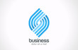 Logo Abstract Business Technology Spiral vector design