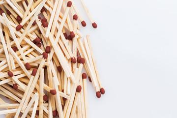 A lot of matchsticks