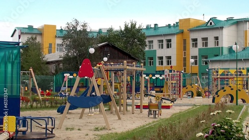 Children playground.