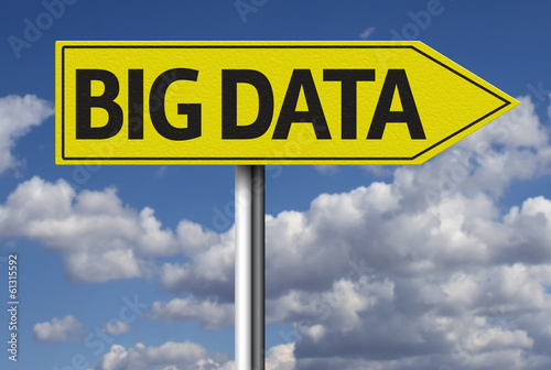 Big Data creative sign
