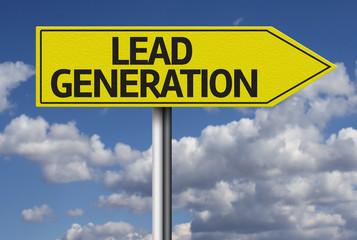 Lead Generation creative sign