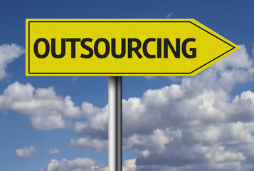 Outsourcing creative sign