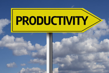 Productivity creative sign