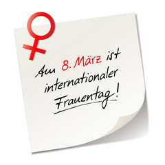 Reminder - Internationaler Frauentag