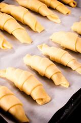 Croissant preparation