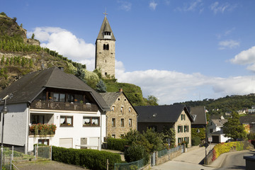 Germany, Kobern-Gondorf cityscape