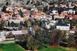 Aerial view of Cetinje old royal Capital of Montenegro