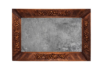 old bronze frame