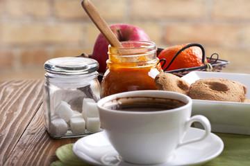Coffee and snacks