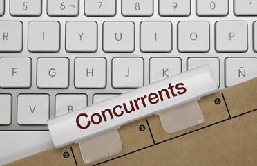 Concurrents. Clavier