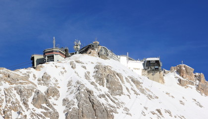 Zugspitze Mounain - the top of Germany.