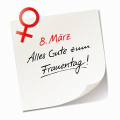 Alles Gute zum Frauentag