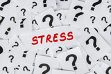 Stress and question mark