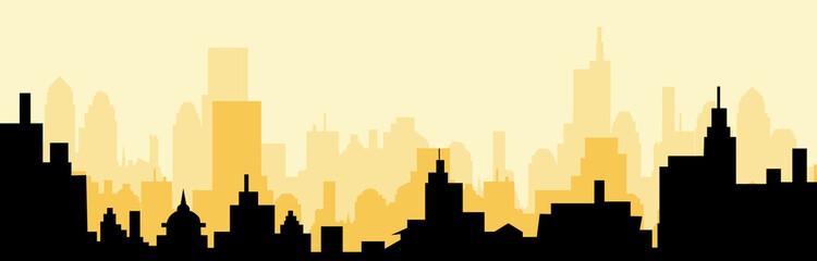 Cityscape skyline at Morning