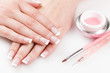 Naturally Manicured Fingernails