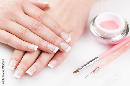 Naturally Manicured Fingernails