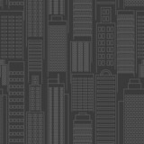 seamless city wallpaper pattern