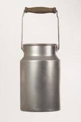 Milchkanne aus Aluminium