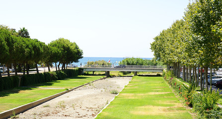 Jardines de la riera de Cambrils, Tarragona