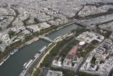 Fototapeta Eiffel Tower - Paryż - widok z Wieży Eiffla 2 © edwardstrun