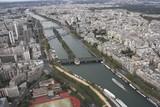 Fototapeta Eiffel Tower - Paryż - widok z Wieży Eiffla 3 © edwardstrun