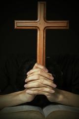 Worshipper Praying