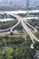 Wiedeń - autostrada nad Dunajem
