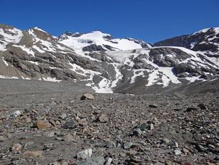 Plan des Evettes et petite Ciamarella  (3534 m), Haute-Maurienne