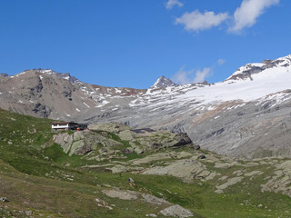 Refuge des Evettes en Haute-Maurienne