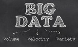 Big Data the Three - Volume, Velocity and Variety