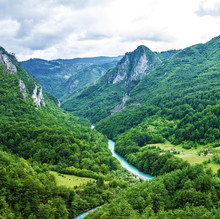 Górskie rzeki Tara, Durmitor, Czarnogóra