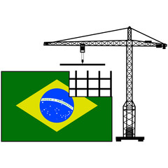 Brazil in construction