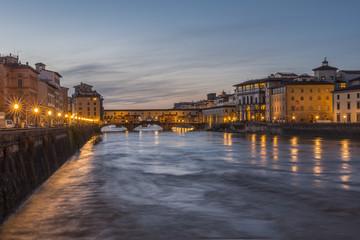 Firenze di sera - Arno