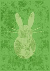 Hintergrund Osterhase,abstrakt,grunge,grün,vektor