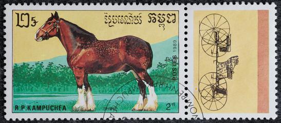 francobollo - Cambogia