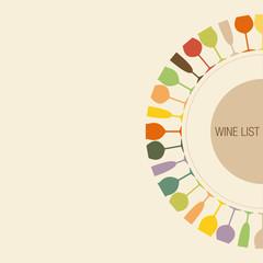 Wine list mezzo giro