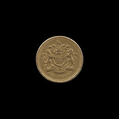 One pound coin of 1983