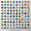 flat line web icon - set 1